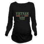 Vietnam Vet Long Sleeve Maternity T-Shirt