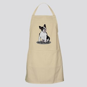Frenchie the bulldog Apron