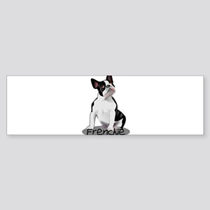 Frenchie the bulldog Bumper Sticker