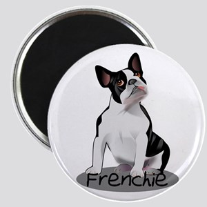 Frenchie the bulldog Magnets