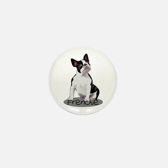 Frenchie the bulldog Mini Button