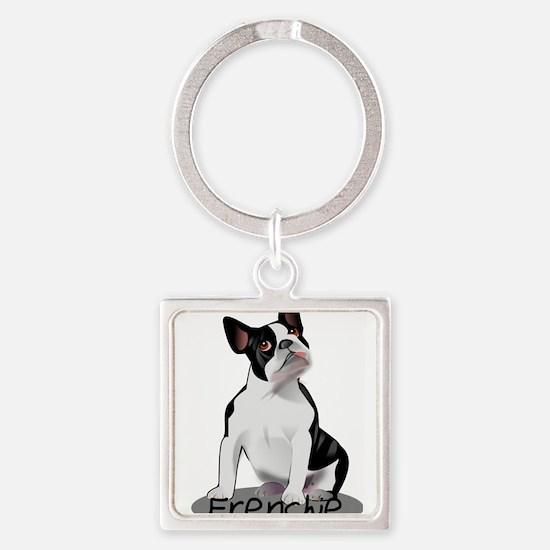 Frenchie the bulldog Keychains