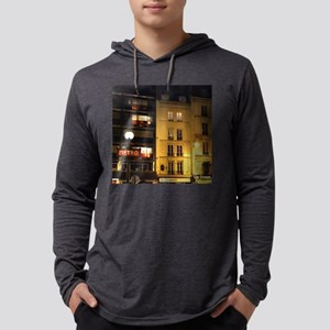 Paris Metro Sign Street Lamp Long Sleeve T-Shirt