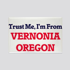 Trust Me, I'm from Vernonia Oregon Magnets