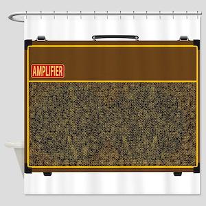 Big Amplifier Shower Curtain