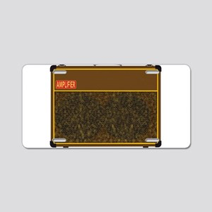 Big Amplifier Aluminum License Plate