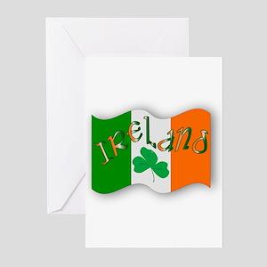 Irish Flag Greeting Cards