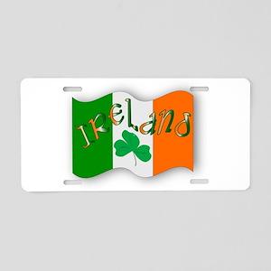Irish Flag Aluminum License Plate