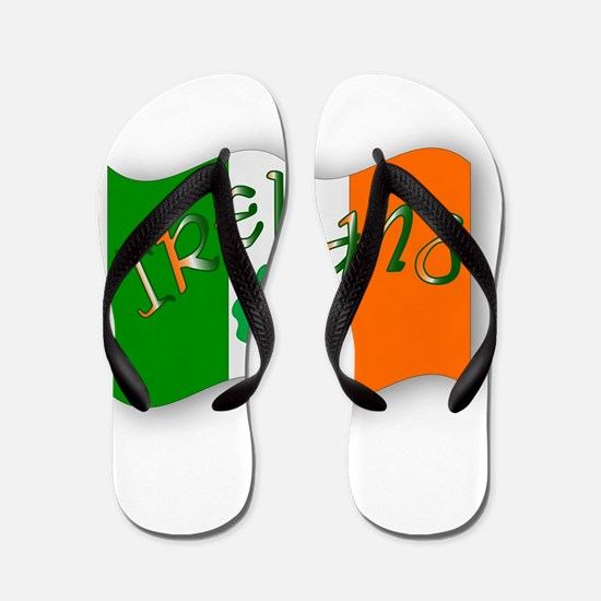 Irish Flag Flip Flops