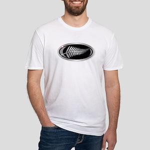 New Zealand Silver Fern Button T-Shirt