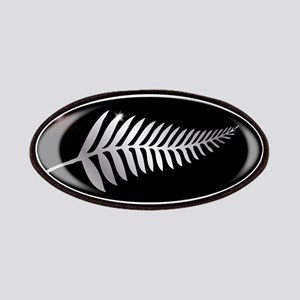 New Zealand Silver Fern Button Patch