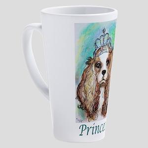 Princess! Puppy, dog, art! 17 oz Latte Mug