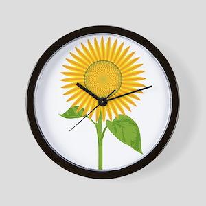 Giant Sunflower Wall Clock
