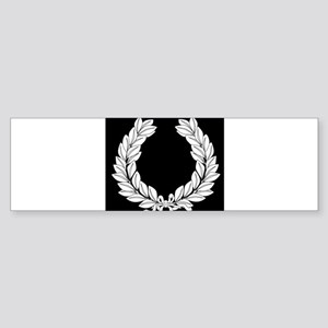 Laurel Half Tone Bumper Sticker