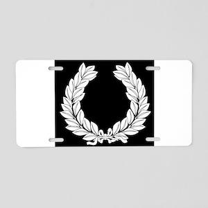 Laurel Half Tone Aluminum License Plate