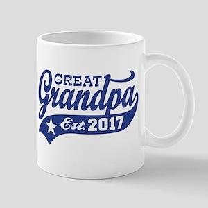 Great Grandpa Est. 2017 Mug