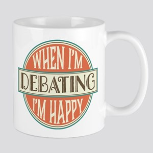 happy debater Mug