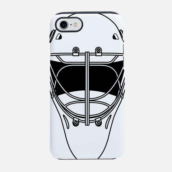 hockey helmet iPhone 8/7 Tough Case