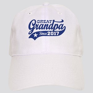 Great Grandpa Since 2017 Cap