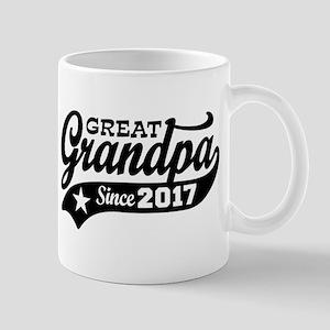 Great Grandpa Since 2017 Mug