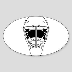 hockey helmet Sticker