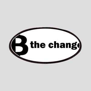 B Be The Change - Bitcoin Patch