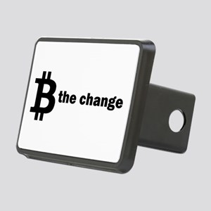 B Be The Change - Bitcoin Rectangular Hitch Cover