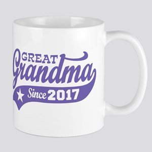 Great Grandma Since 2017 Mug