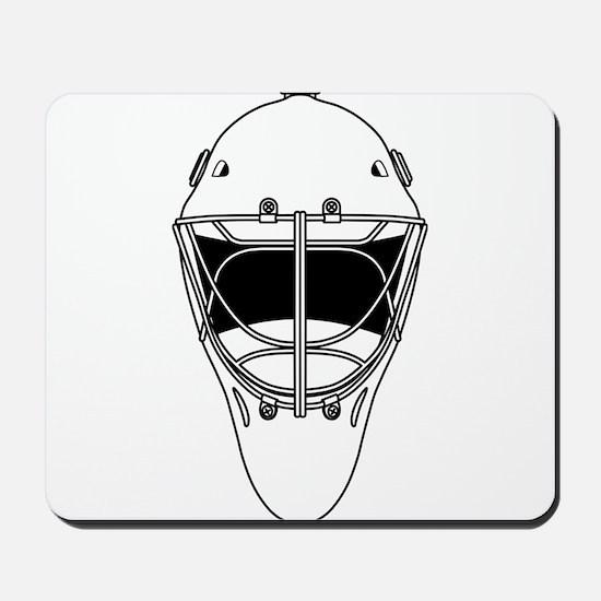 hockey helmet Mousepad