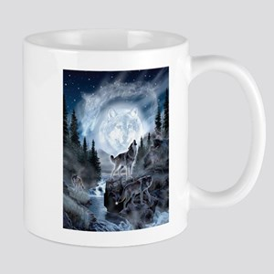 spirt of the wolf Mugs