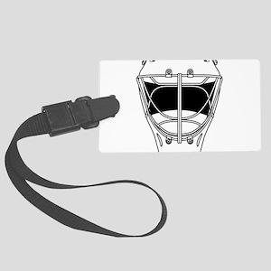 hockey helmet Large Luggage Tag