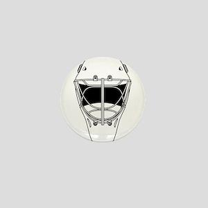 hockey helmet Mini Button