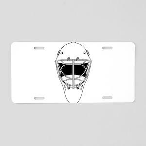hockey helmet Aluminum License Plate