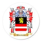 Wainbaum Round Car Magnet