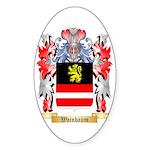 Wainbaum Sticker (Oval 50 pk)