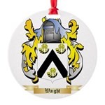 Waight Round Ornament