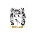 Wahnke Sticker (Rectangle 50 pk)