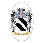 Wagstaffe Sticker (Oval 50 pk)