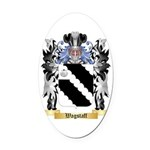 Wagstaff Oval Car Magnet