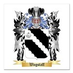 Wagstaff Square Car Magnet 3