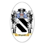 Wagstaff Sticker (Oval 50 pk)