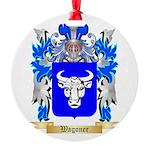 Wagoner Round Ornament
