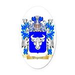 Wagoner Oval Car Magnet