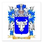Wagner Square Car Magnet 3