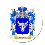 Wagner Round Car Magnet