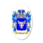 Wagner 35x21 Oval Wall Decal