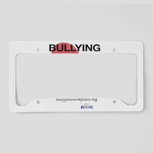 Bullying Breaks Hearts License Plate Holder