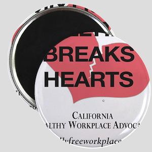 Bullying Breaks Hearts Magnets