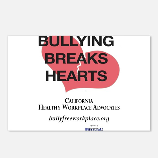 Bullying Breaks Hearts Postcards (Package of 8)