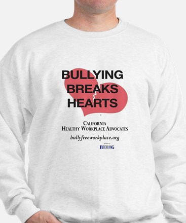 Bullying Breaks Hearts Sweatshirt